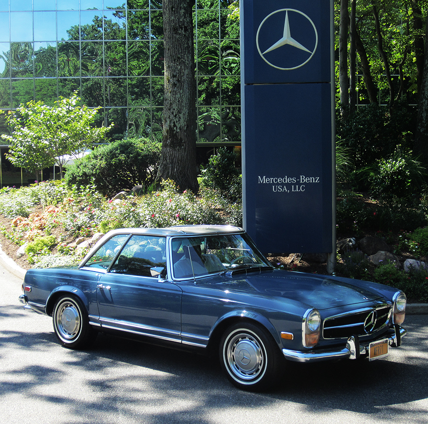 1971 mercedes benz 280sl pagoda at 2012 june jamboree in for Mercedes benz freehold nj