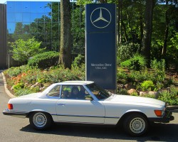 1984 Mercedes 380SL owned by Marc Loranger.