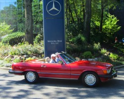 1989 Mercedes 560SL owned by P.J. Ehmann.