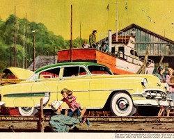 1954 Chevrolet Bel Air ad