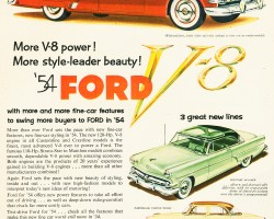 1954 ford ad