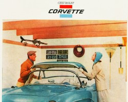 1956 Chevrolet Corvette ad