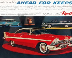 1958 Plymouth Fury ad