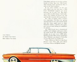 1960 ford ad