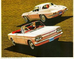 1963 Chevrolet Corvair ad