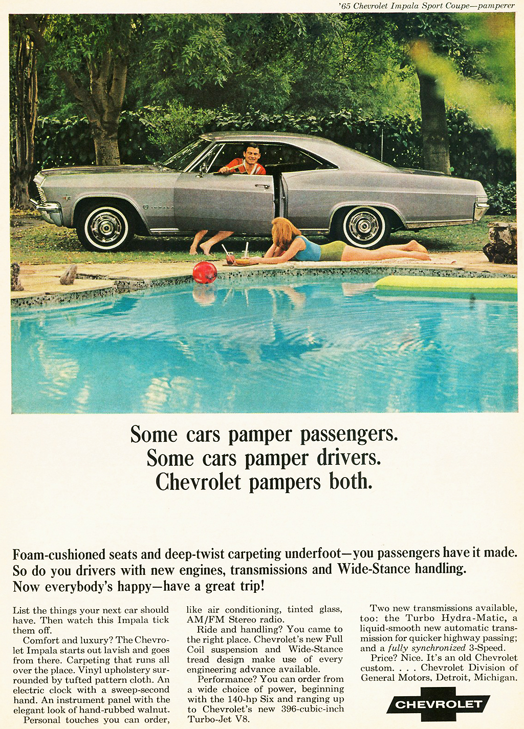 1965 Chevrolet Impala Sport Coupe Ad Classic Cars Today Online