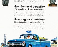 1965 ford pickup ad