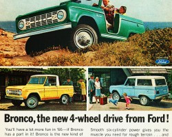 1966 ford bronco ad