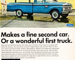 1966 ford pickup ad