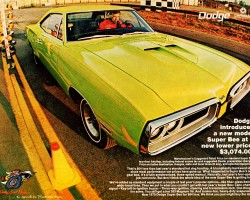1970 dodge super bee ad