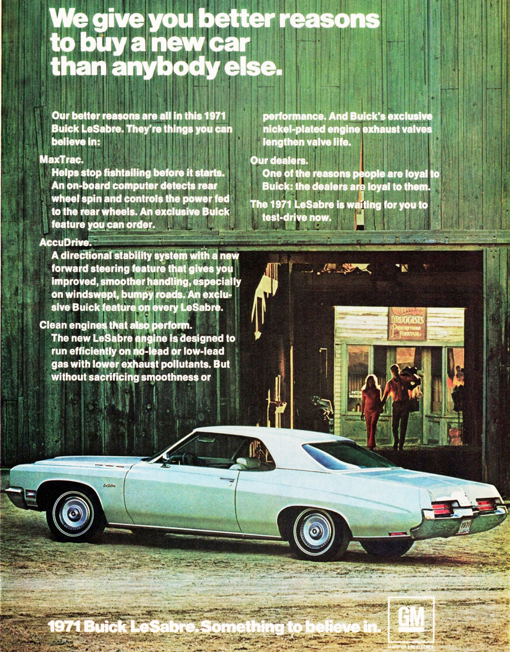 1971 Buick LeSabre ad | CLASSIC CARS TODAY ONLINE