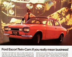 1971 ford escort ad