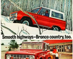 1972 ford bronco ad