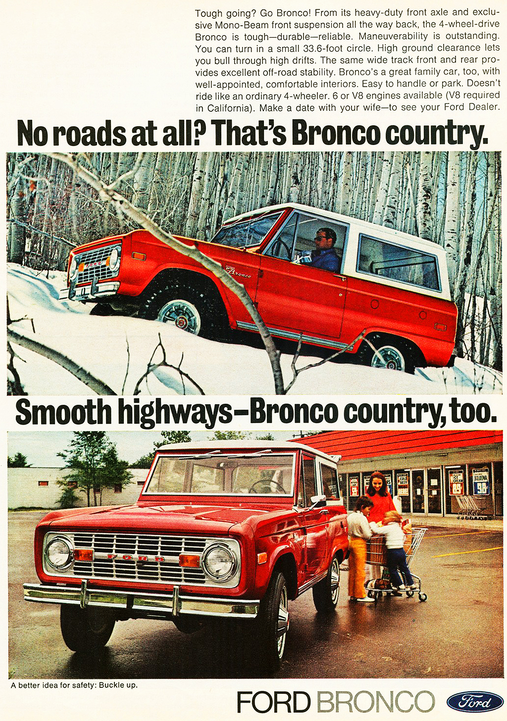 1972 Ford Bronco ad  CLASSIC CARS TODAY ONLINE
