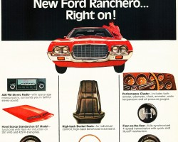 1972 ford ranchero ad