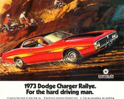 1973 dodge charger ad