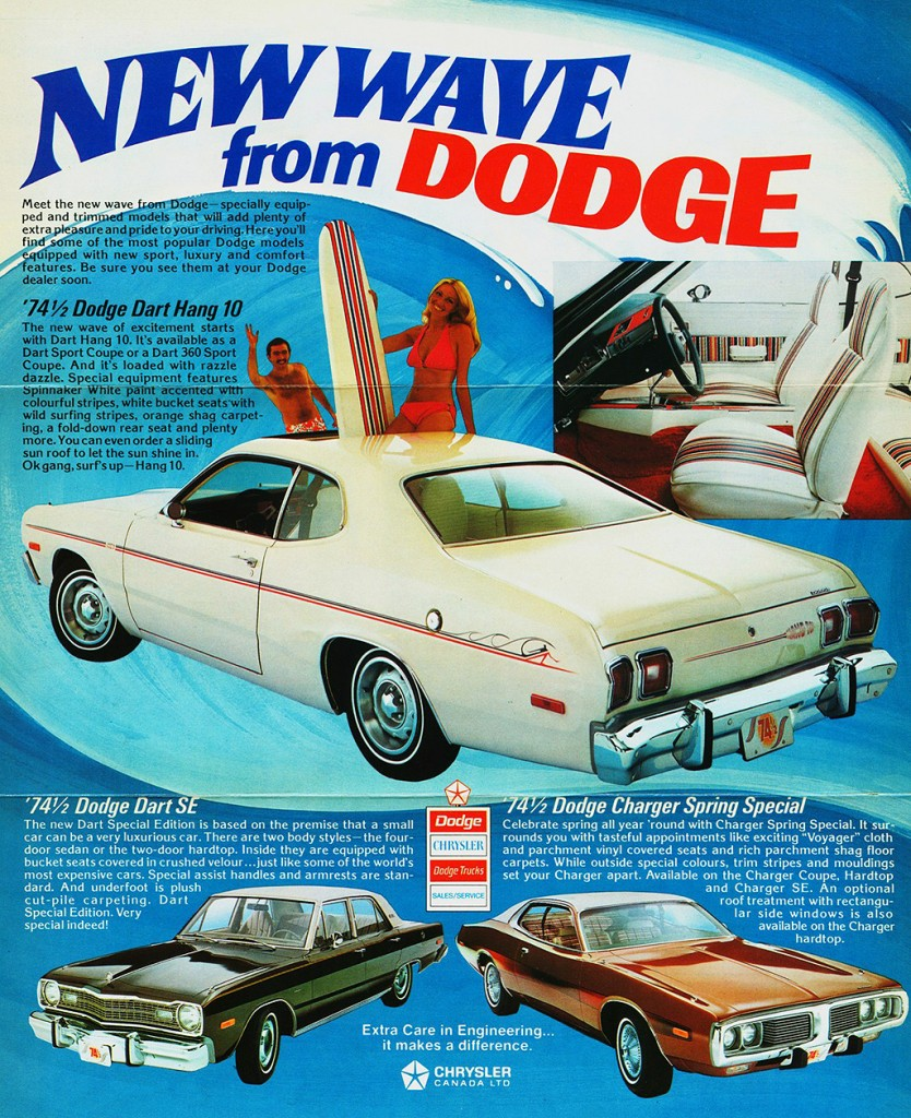 1974 Dodge Dart Ad Classic Cars Today Online