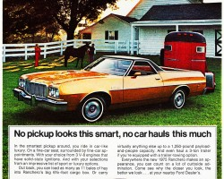 1975 ford ranchero ad