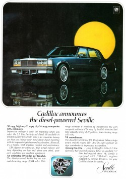 1978 cadillac seville ad