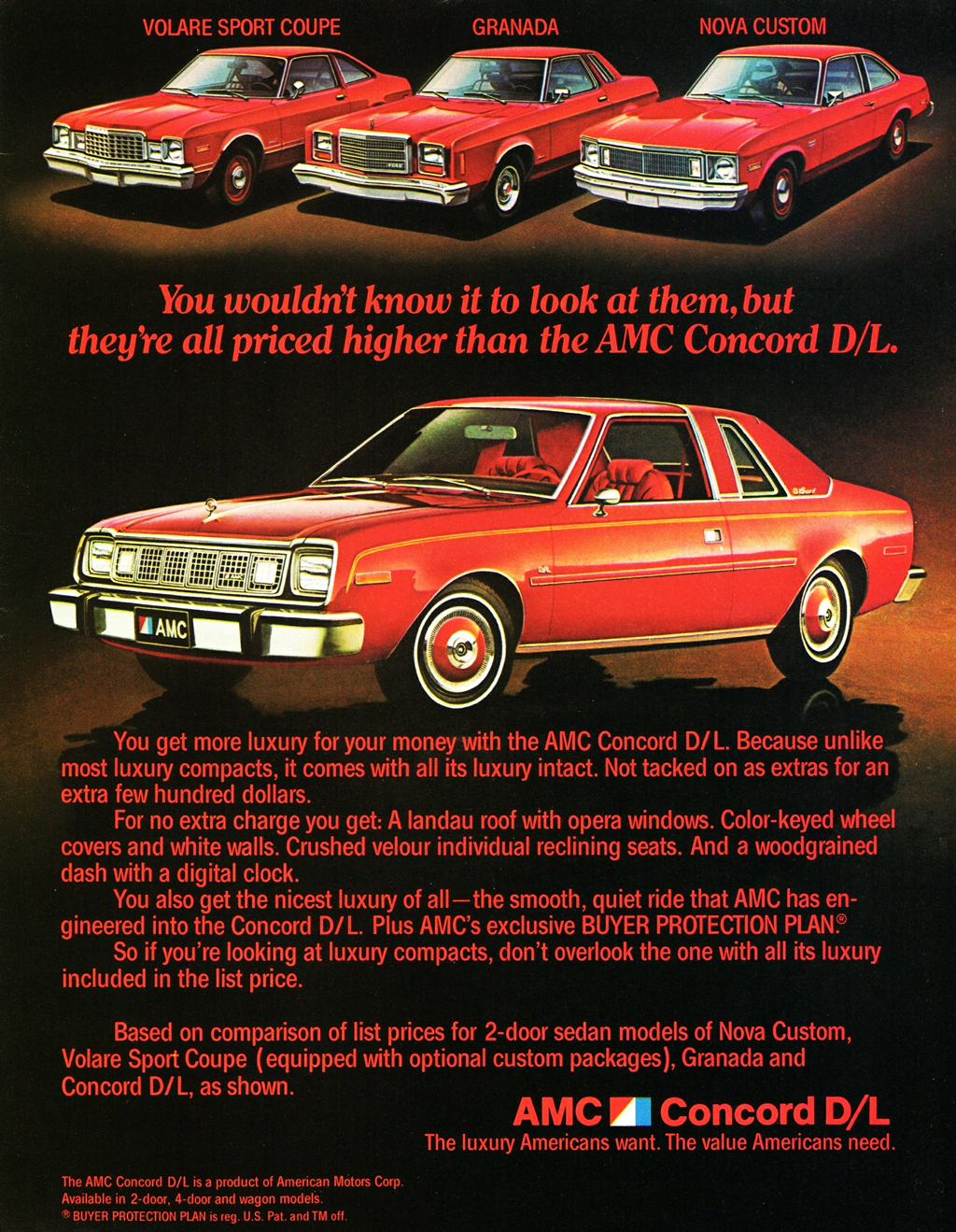 1979 AMC advertisement