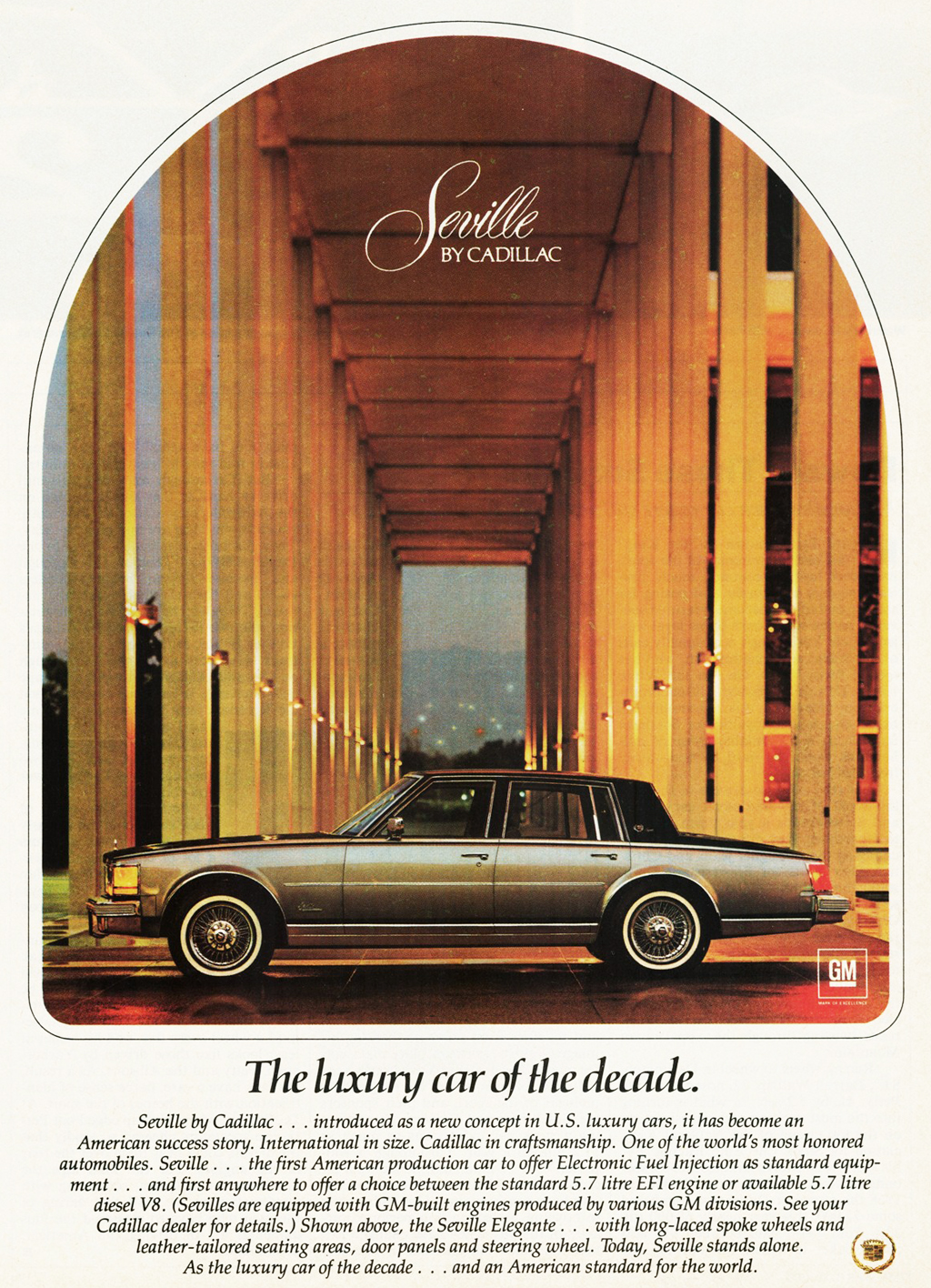 1979 Cadillac Seville Elegante Ad Classic Cars Today Online