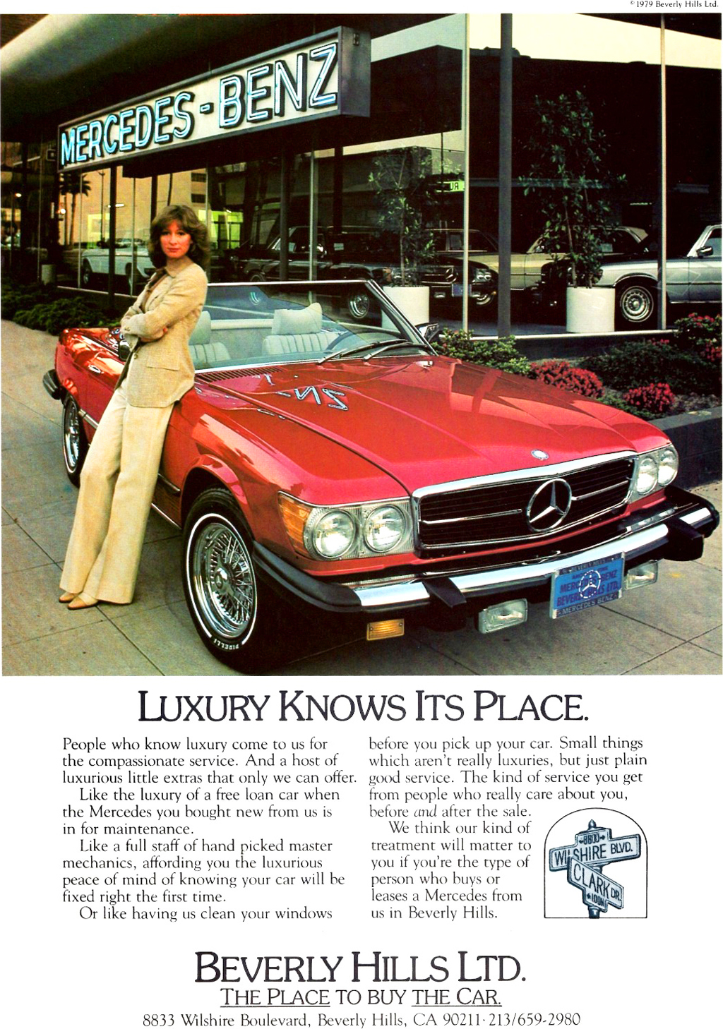 Classic Car Dealer Brochures