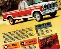 1981 ford pickup ad