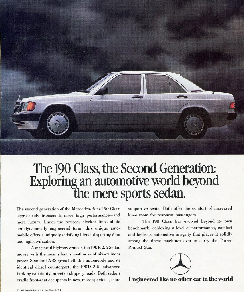 Mercedes car ads the image kid has it for Mercedes benz print ads