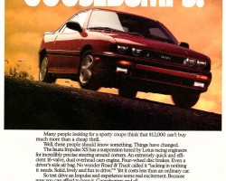 1991 isuzu impulse ad