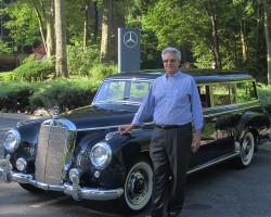 1956 Mercedes 300C owned by Bruce Ianelli.