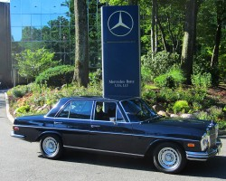 1972 Mercedes 280SE 4.5 owned by David North.