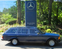 1985 Mercedes 300TD wagon owned by Ross Wilson.