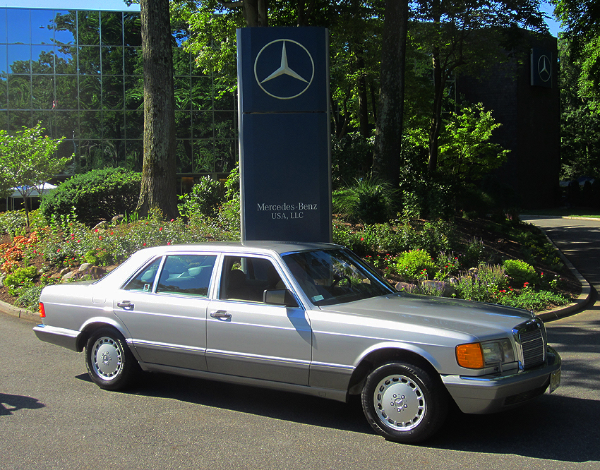 1991 mercedes benz 560sel 126 body at 2012 june jamboree for Mercedes benz montvale nj