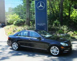 2012 Mercedes C300 Luxury Edition owned by Alan Andrea.