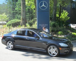 2011 Mercedes S63 AMG owned by Cliff Robert.