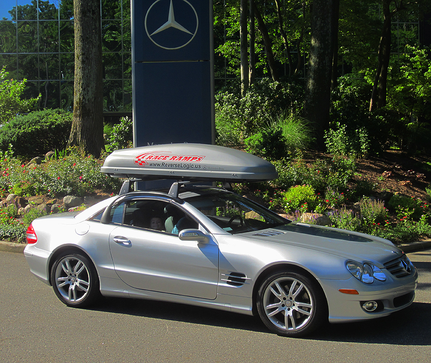 2007 Mercedes SL500 owned by Roger Mahieu.