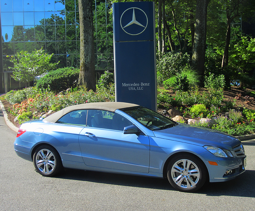 2012 Mercedes E350 Cabriolet owned by Donald Boop.