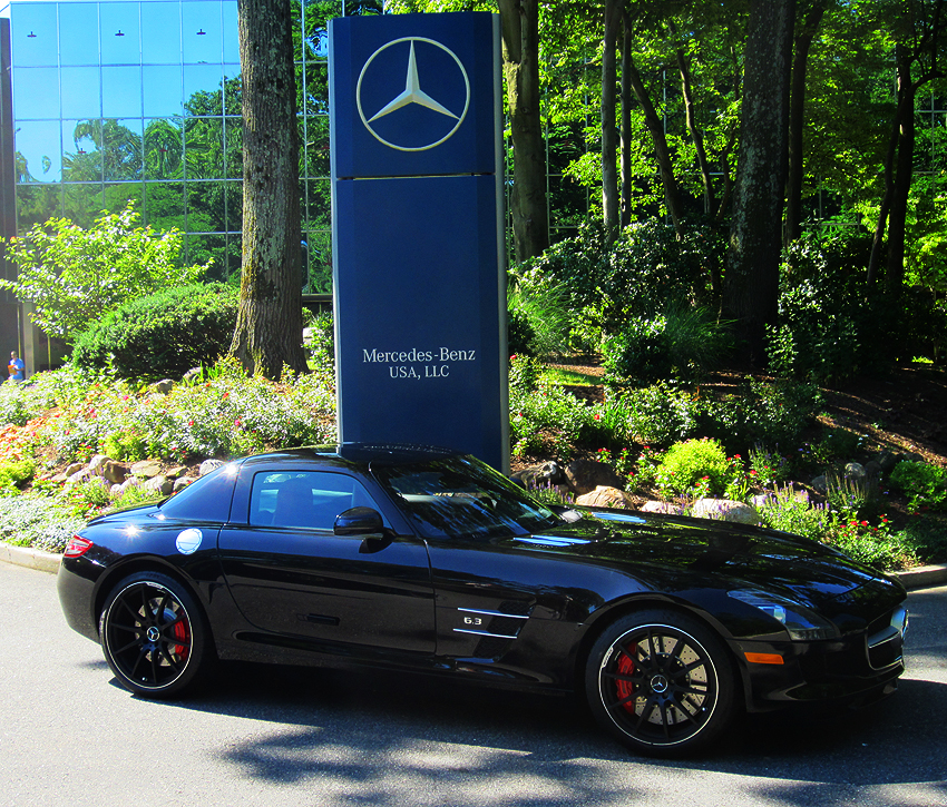 2012 mercedes sls at 2012 june jamboree in montvale nj for Mercedes benz montvale nj