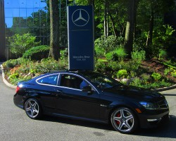 2012 Mercedes C63 AMG coupe owned by Steve Sander.