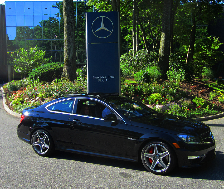 2012 mercedes benz c63 amg coupe at 2012 june jamboree in for Mercedes benz montvale nj