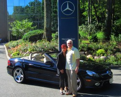 2009 Mercedes SL550 owned by Billy Viars.