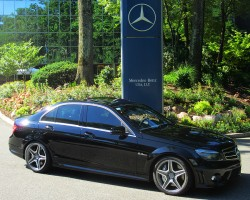 2010 Mercedes C63 AMG owned by Paul Reitnauer.