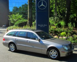 2004 Mercedes E320 wagon owned by John Anaischick.