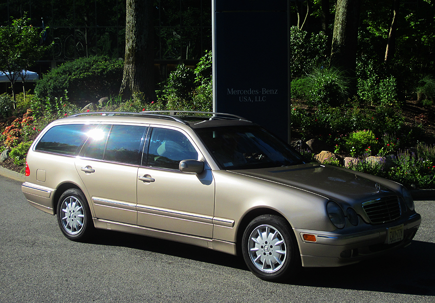 2001 Mercedes E320 wagon owned by Raymond DiMiglio