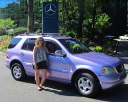 2000 Mercedes ML320 owned by Felipe Cuadra.
