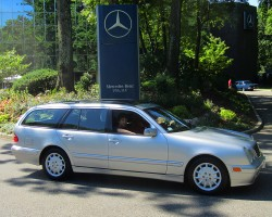 2001 Mercedes E320 wagon owned by David Veith.