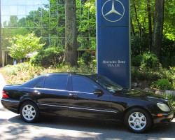 2000 Mercedes S500 owned by Dan Antelino.