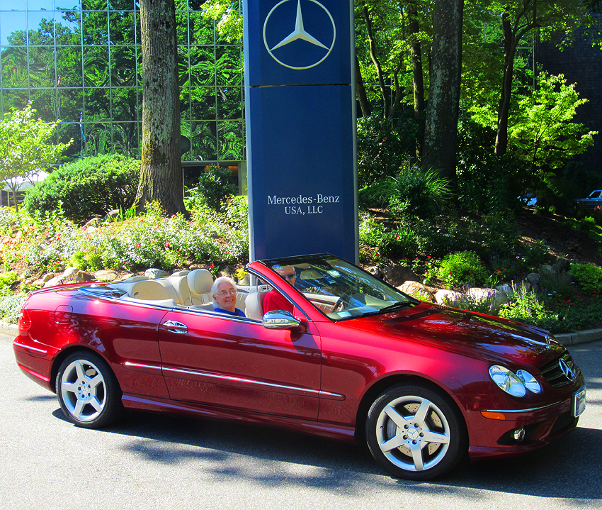2007 Mercedes CLK550 Cabrio owned by Bob Donnelly.