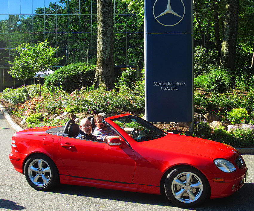 2002 mercedes benz slk320 at 2012 june jamboree in for Mercedes benz montvale nj