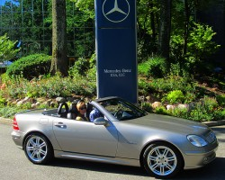 2002 Mercedes SLK320 owned by Paul Reitnauer.